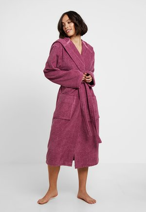 VEGAN LIFE - Dressing gown - blackberry