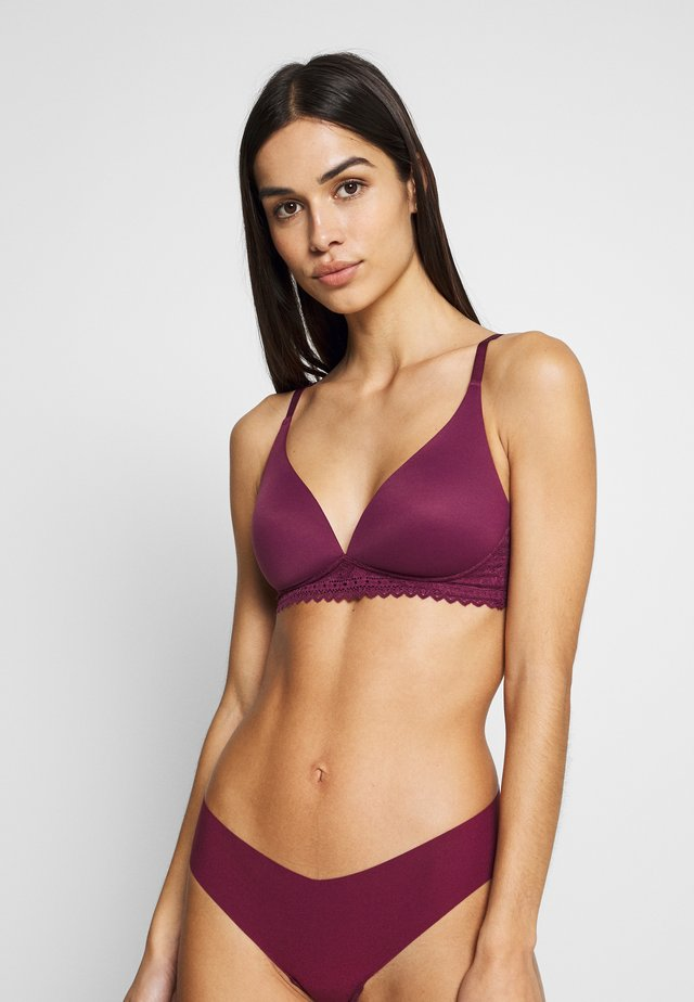 SOFT - Reggiseno a triangolo - medium mulberry