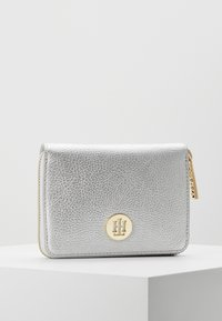 Tommy Hilfiger - CORE MEDIUM METALLIC - Wallet - grey - 0
