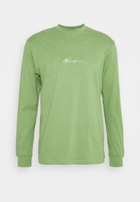 Mennace - ESSENTIAL SIGNATURE UNISEX - Long sleeved top - khaki - 0
