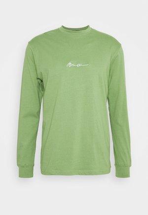 ESSENTIAL SIGNATURE UNISEX - Long sleeved top - khaki