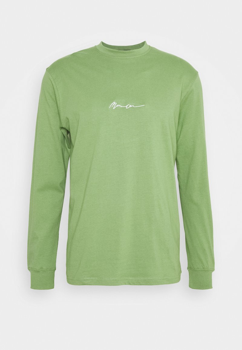Mennace - ESSENTIAL SIGNATURE UNISEX - Long sleeved top - khaki