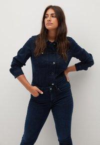 Violeta by Mango - SOFIA - Jeans Skinny Fit - intensives dunkelblau - 3
