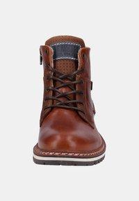 Bullboxer - Kotníkové boty - tan/cognac - 6