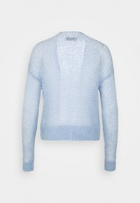 Abercrombie & Fitch - LOUISE OPEN STITCH  - Cardigan - blue - 1