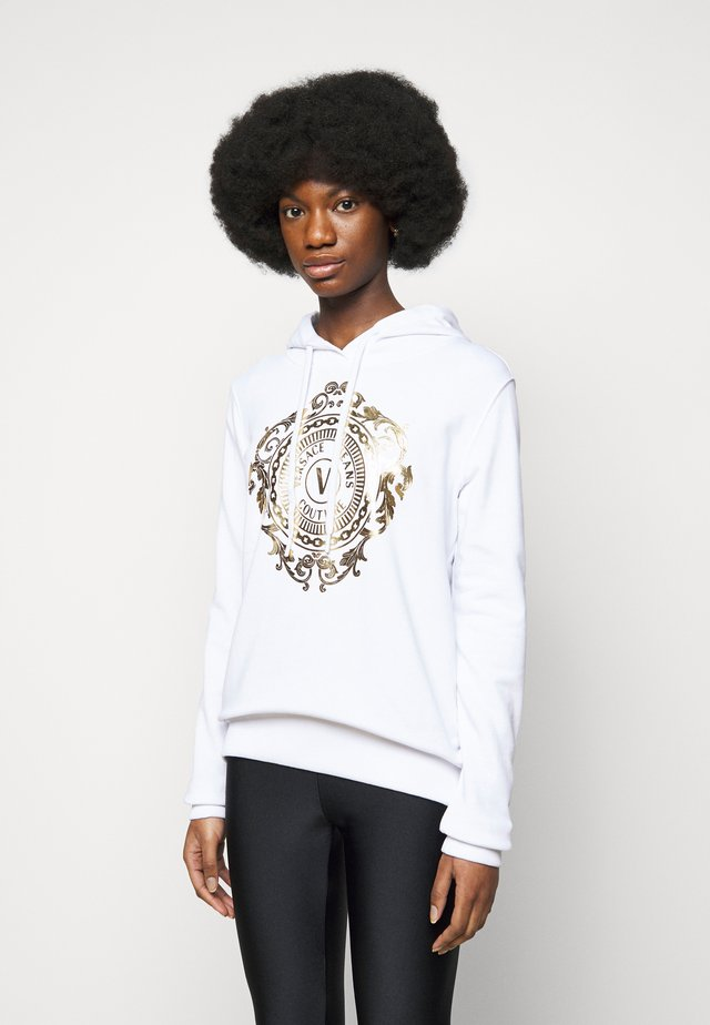 Sweater - optical white/gold