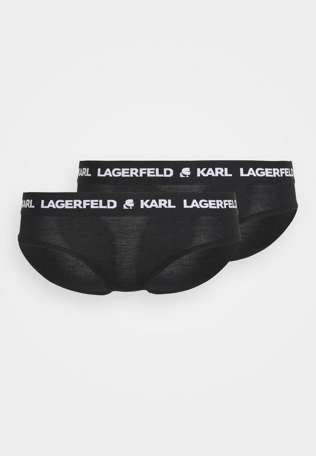 LOGO HIPSTER 2 PACK - Figi - black