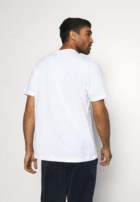 adidas Performance - Print T-shirt - white - 2