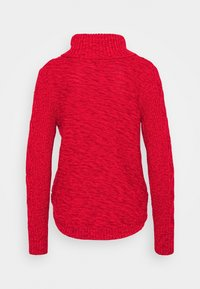GAP - CABLE T NECK - Jumper - modern red - 1