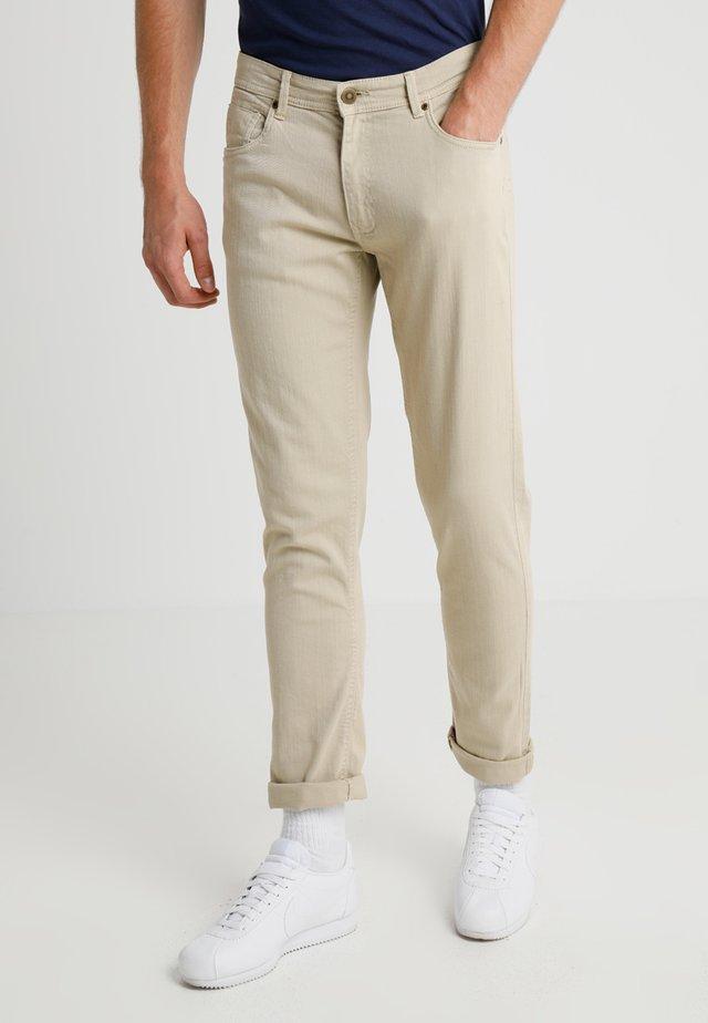 BASIC STRETCH - Jeans slim fit - sand