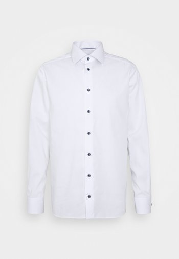 CONTEMPORARY FINE STRIPES WEAVE  - Formal shirt - white