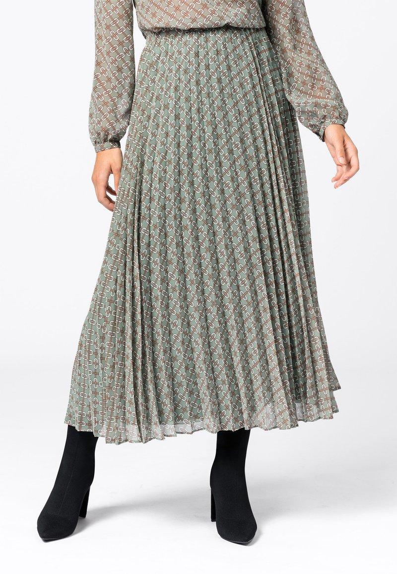 HALLHUBER - À IMPRIMÉ CHAÎNES - A-line skirt - multicolore