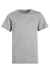 Tommy Hilfiger - 2 PACK - Basic T-shirt - white/grey heather - 2