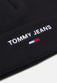 Tommy Jeans - SPORT BEANIE UNISEX - Pipo - black - 2