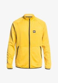 Quiksilver - MIT REISSVERSCHLUS - Fleece jacket - sulphur - 0