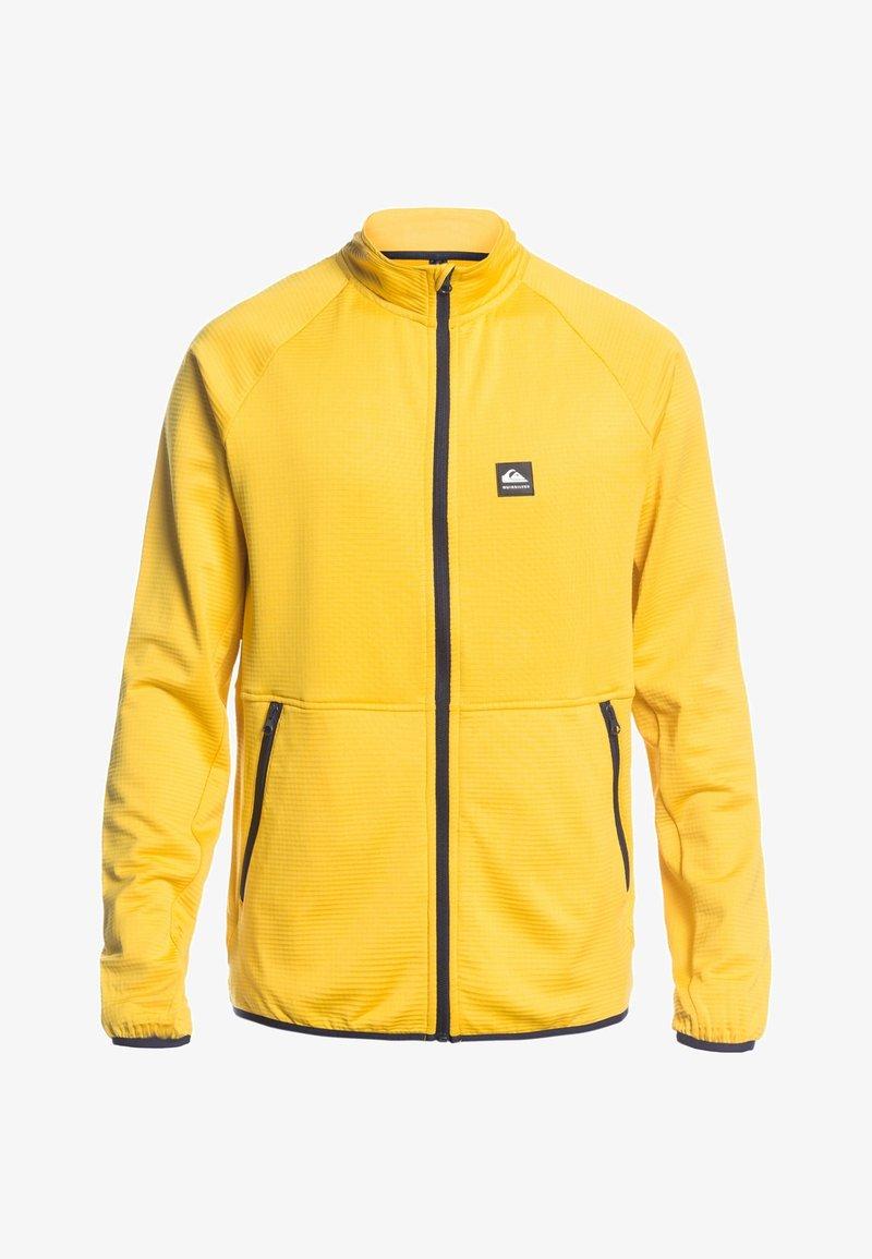 Quiksilver - MIT REISSVERSCHLUS - Fleece jacket - sulphur