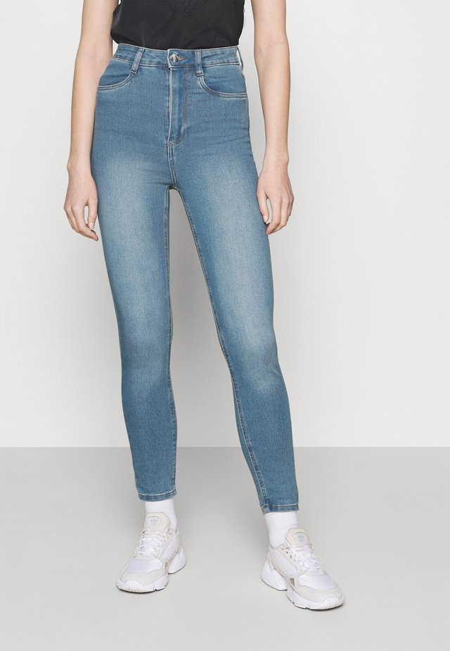 ULTRA HIGH SUPER STRETCH - Jeans Skinny Fit - bells blue