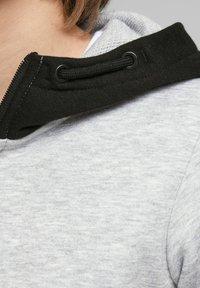 Jack & Jones Junior - Zip-up hoodie - light grey melange - 4
