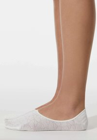 OYSHO - 3 PAIRS HEART - Trainer socks - light pink - 0