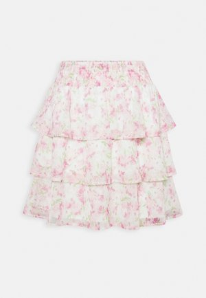 EXCLUSIVE ARCHER FRILL SKIRT - Mini skirt - spring garden