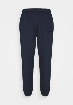 ESSENTIAL REGULAR JOGGER UNISEX - Tracksuit bottoms - navy