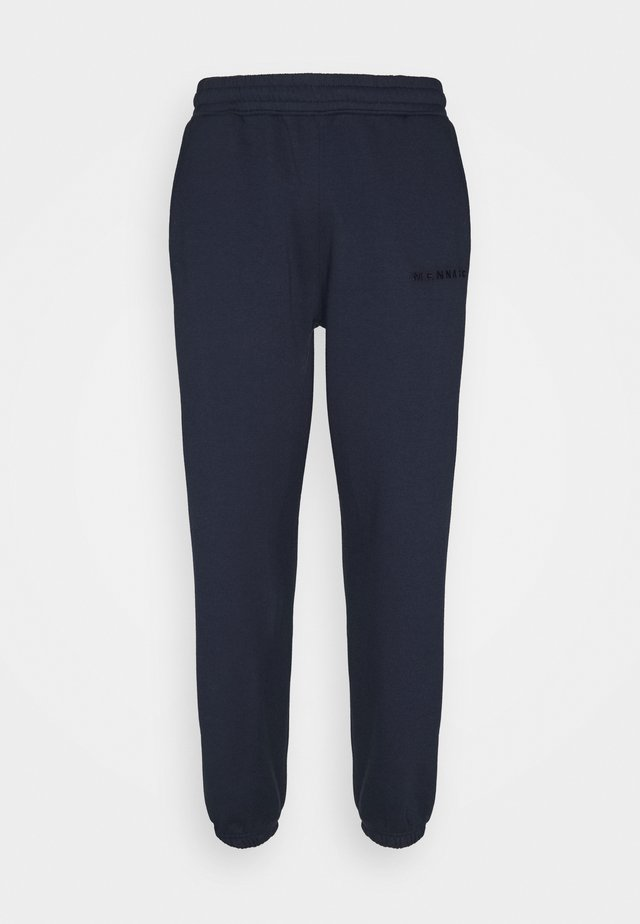 ESSENTIAL REGULAR JOGGER UNISEX - Teplákové kalhoty - navy