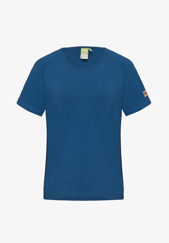 Print T-shirt - saphir