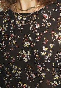 Vila - VIBLOSSOMS - Long sleeved top - black - 5