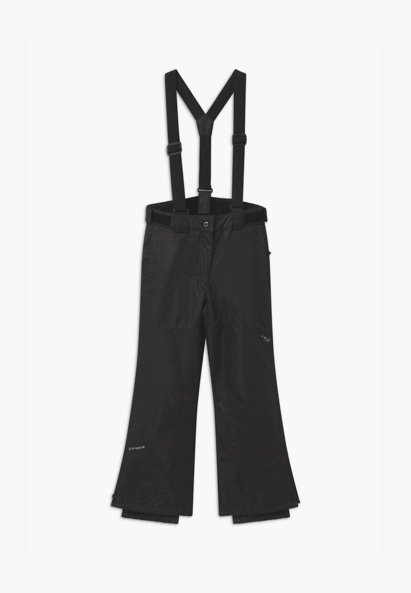 Icepeak - CELIA UNISEX - Snow pants - black