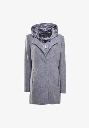Parka - blaugrau tweed
