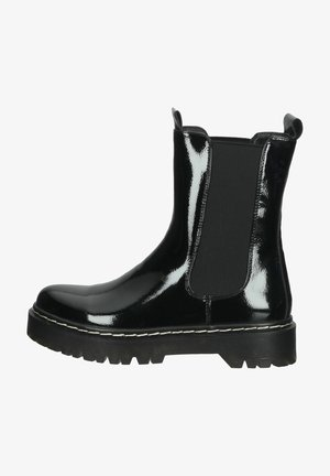 Classic ankle boots - patent black