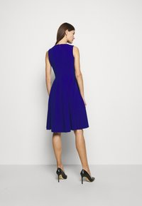 Lauren Ralph Lauren - LUXE TECH DRESS - Jersey dress - french ultramarin - 2