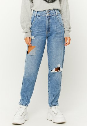 HIGH WAIST SLOUCHY - Relaxed fit jeans - blue