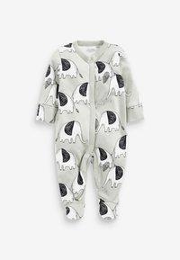 Next - 3 PIECE PACK ELEPHANT  - Sleep suit - green - 3