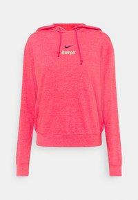Nike Performance - FC BARCELONA GYM HOODIE - Club wear - fusion red/deep royal blue - 4
