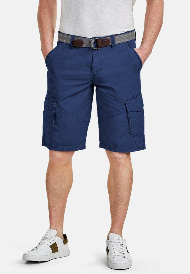 LERROS CARGO-BERMUDA - Shorts - blue