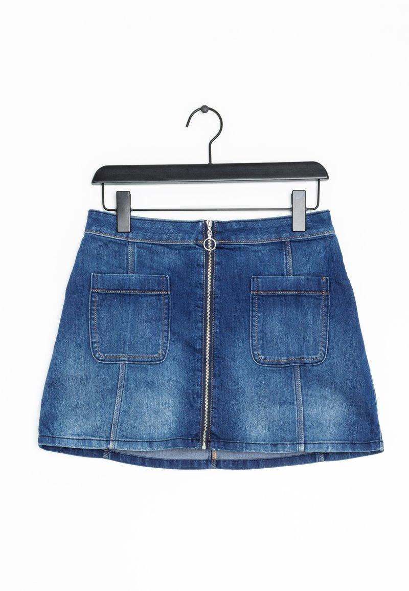 Hollister Co. - Spódnica trapezowa - blue