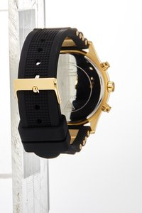 Guess - LADIES SPORT - Hodinky - black/gold-coloured - 3