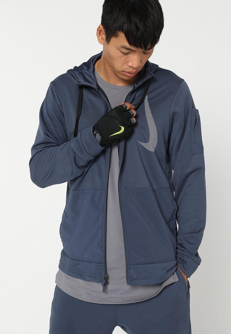 Nike Performance - MEN´S ELEMENTAL FITNESS GLOVE - Gants - black/dark grey/black/volt