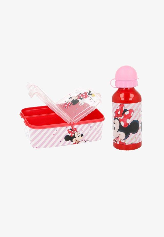 MINNIE LUNCH-SET BROTDOSE + TRINKFLASCHE - Lunch box - pink