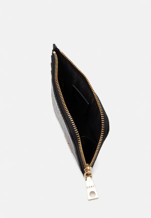BRYANT ZIP CARD HOLDER - Wallet - black/gold-coloured