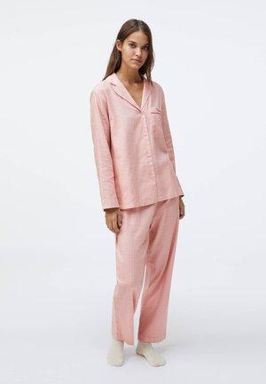 WITH INTRICATE PRINT - Nattøj trøjer - rose