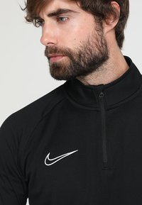 Nike Performance - DRY  - T-shirt sportiva - black/white - 4