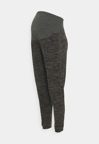 Dorothy Perkins Maternity - OVER BUMP BRUSHED JOGGER - Trainingsbroek - charcoal marl - 0