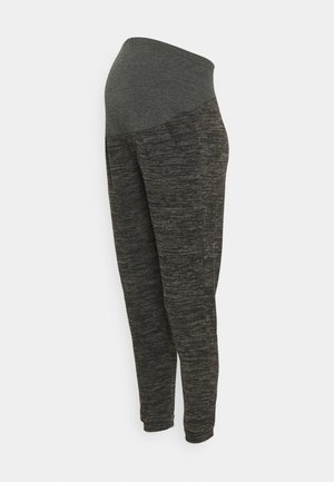 OVER BUMP BRUSHED JOGGER - Tracksuit bottoms - charcoal marl