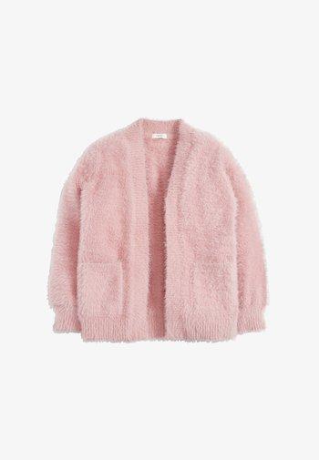 FLUFFY LONG - Vest - pink