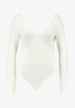 BODYSUIT - Long sleeved top -  white