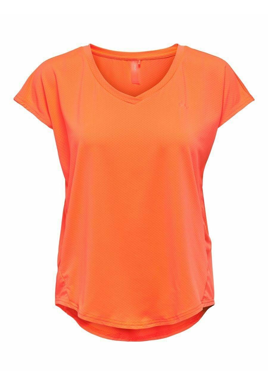 Damen ONPJENSA CURVED TRAIN TEE - T-Shirt print
