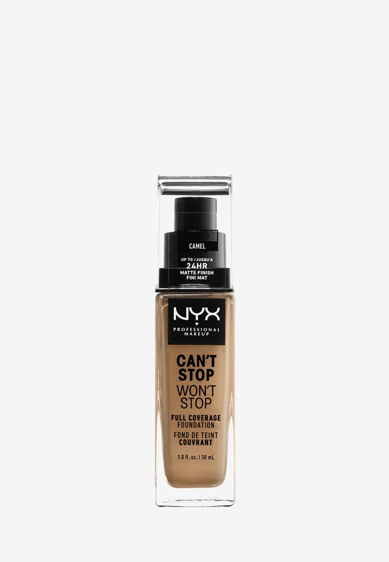 Nyx Professional Makeup - CAN'T STOP WON'T STOP FOUNDATION - Foundation - camel