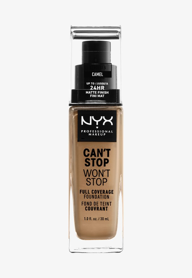 CAN'T STOP WON'T STOP FOUNDATION - Foundation - camel